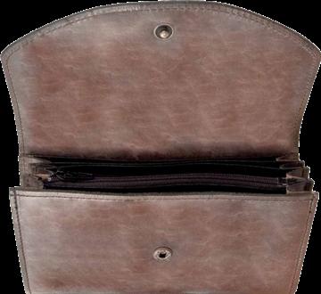 stor plånbok med dragkedja